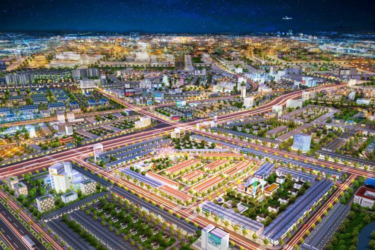 Phối cảnh dự án Bình Dương Avenue City