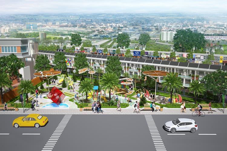 Công viên dự án Bình Dương Avenue City Bến Cát