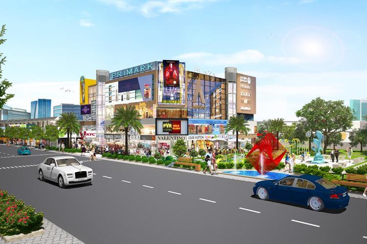 Trung tâm thương mại tại dự án Bình Dương Avenue City Bến Cát