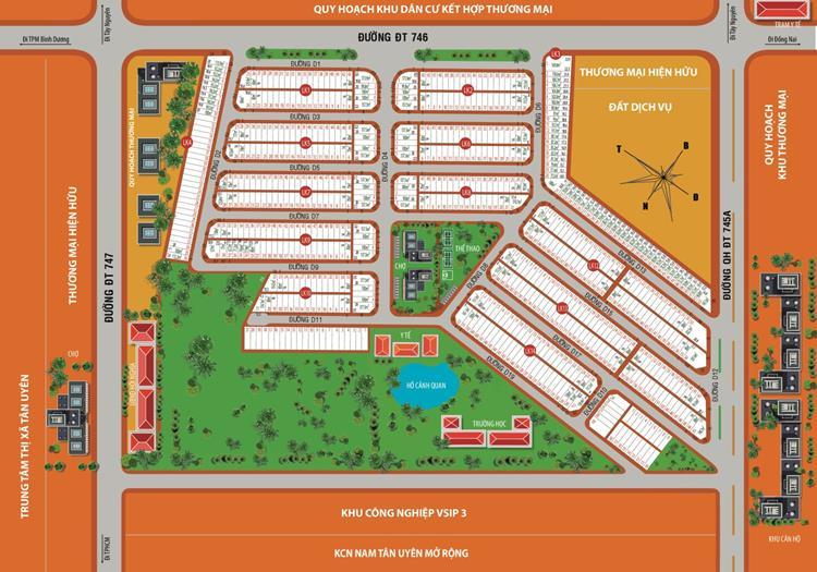 Mặt bằng chính thức dự án khu đô thị Victory City